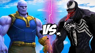 THANOS vs VENOM - Infinity Battle