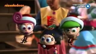 Nickelodeon Greece - Christmas Advert & Ident 2015 [King Of TV Sat]