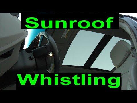 cts wagon sunroof leak