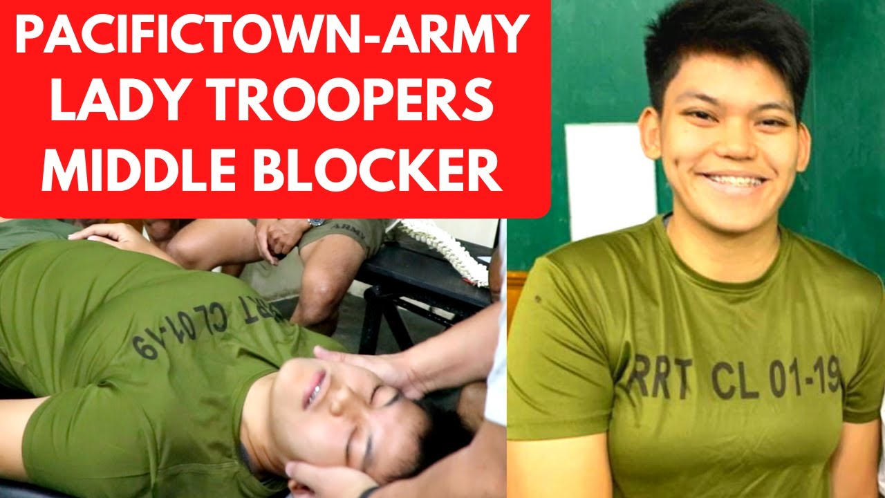 PACIFICTOWN-ARMY LADY TROOPER'S MALALUAN Receives Amazing Adjustment from Metro Manila Chiropractor