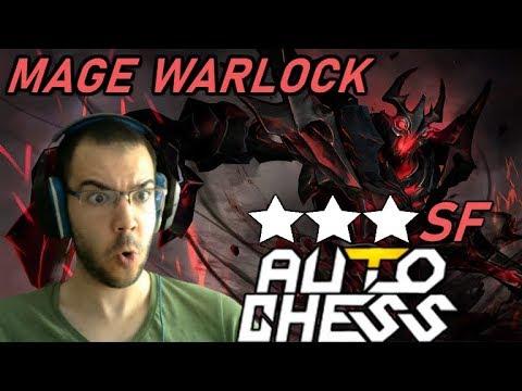 Mage Warlock Is SO GOOD! | Dota Auto Chess Gameplay 120 ☆☆☆ Shadow Fiend