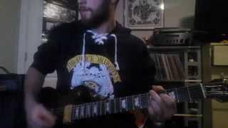 The Bazaar - Tea Party guitar cover
