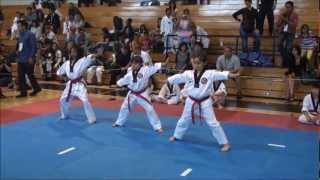 BlackTiger Martial Art School - Taeguk Dance 2