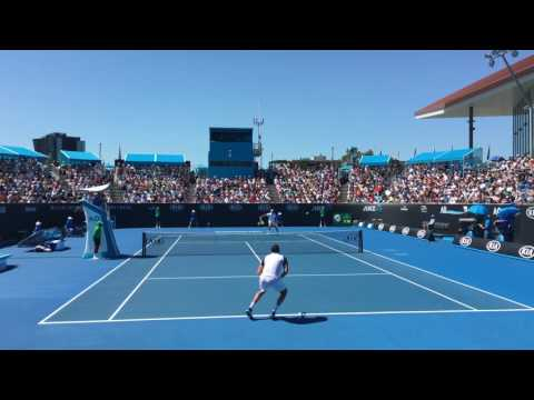 Marin Cilic vs Jerzy Janowicz - 4K Australian Open 2017 R1 Highlights