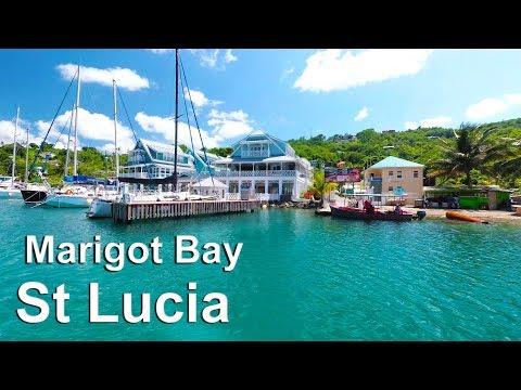 St Lucia Island - Marigot Bay Tour - 2017 (4K)