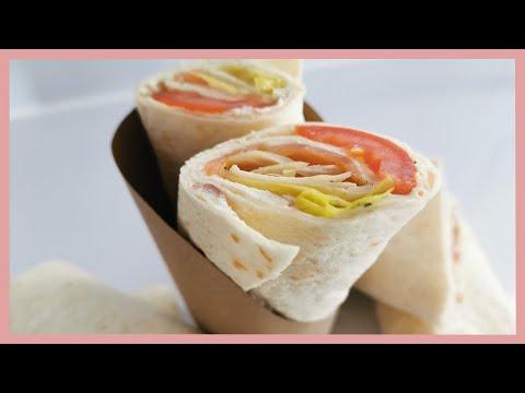 💚recette-wraps-saumon-fromage-💚-simple-et-rapide