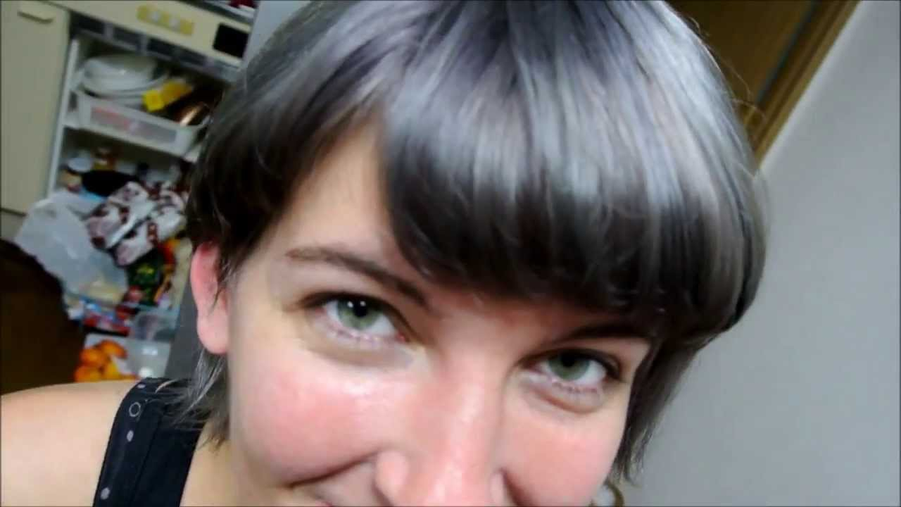 Palty hair dye in marshmallow ash on bleached hair youtube nvjuhfo Choice Image