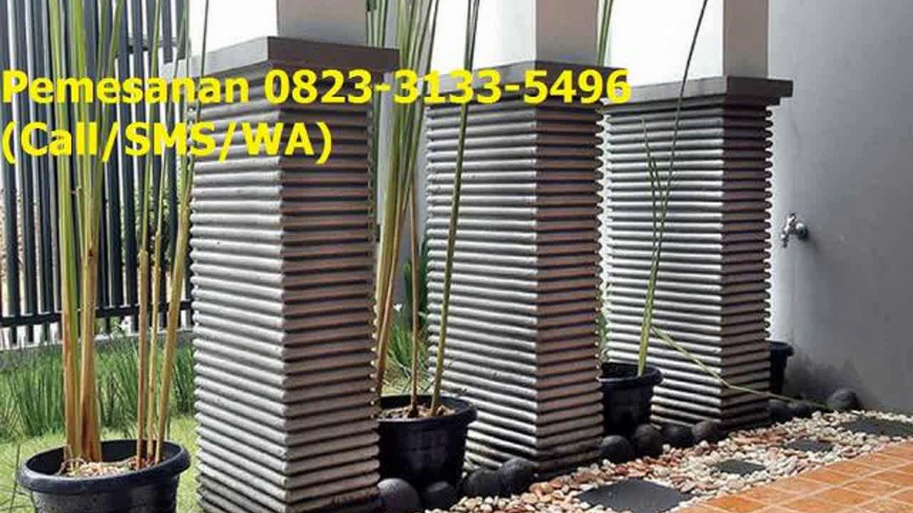 0823 3133 5496 Call SMS WA Pagar Tembok Batu Alam Minimalis