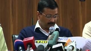 CM Kejriwal unveils blueprint of Odd Even Formula