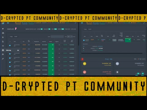 D-Crypted - ProfitTrailer Bot *** LIVE STREAM *** Contact us: https://discord.gg/62n4UfH