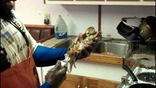 """Real Fish Money *special* """"how -to- Fry! A Live Lobster"""""""