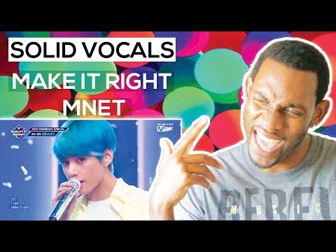 [BTS - Make It Right] Comeback Special Stage L Reaction