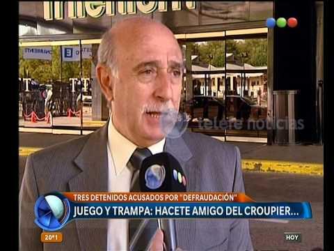 Detuvieron a un croupier del casino de Tigre - Telefe Noticias