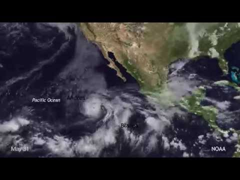 2015 Eastern Pacific hurricane season brings three early storms