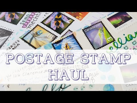 Postage Stamp Haul - Canada Post