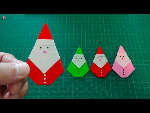 Origami santa claus instructions youtube - Origami Monkey Doovi