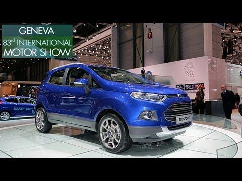 2013 Geneva Motor Show Ford showcases Ecosport