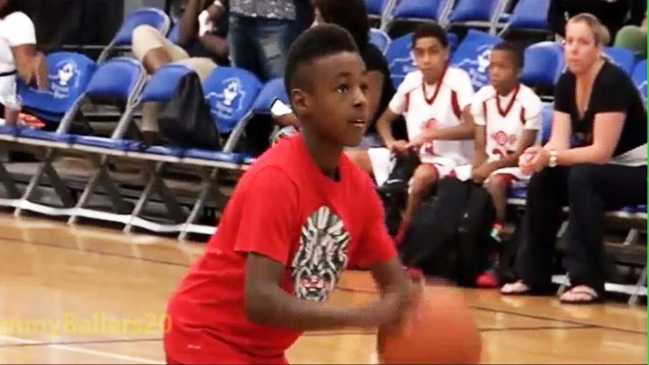 9 Year Old LeBron James Jr At 2014 AAU Championships