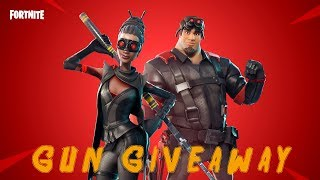 LIVE / FORTNITE SAVE THE WORLD/PLAYGROUND NOT RETURNING TODAY/GUN GIVEAWAY
