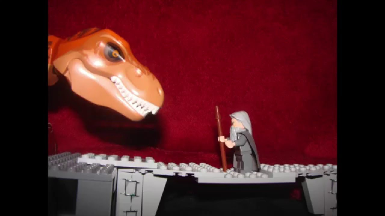 Lego You Shall Not Pass!!!! - YouTube