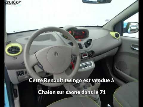 renault twingo occasion visible chalon sur saone pr sent e par citro n chalon youtube. Black Bedroom Furniture Sets. Home Design Ideas