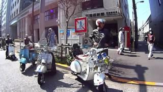 Vespa Rally Tokyo 2017'03'20 ベスパ ラリー 東京