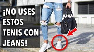 Como Combinar Tenis Con Jeans No Todos Van Bien Youtube