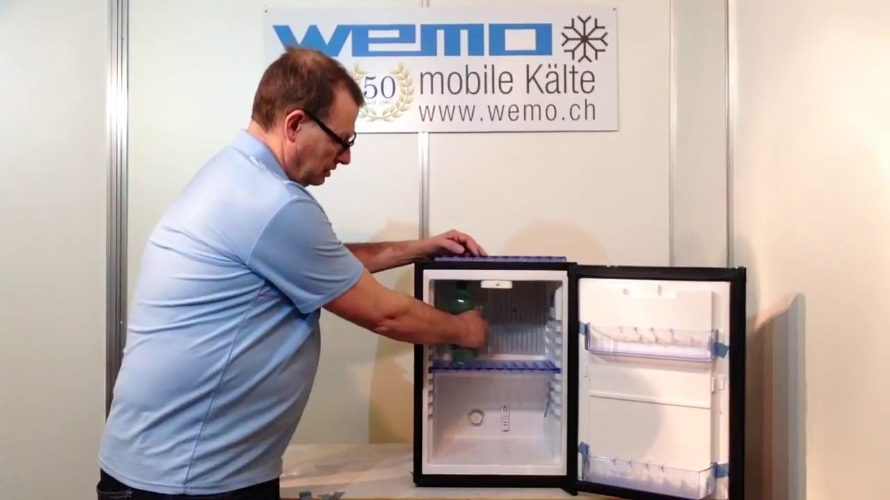Minibar Kühlschrank Lautlos : Hotelzimmerkühlschrank minibar wemo hc absorber kühlschrank
