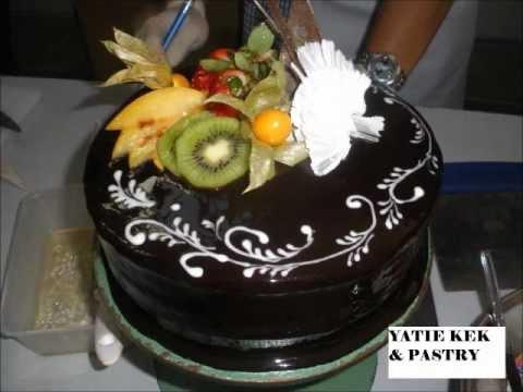 cara membuat kek coklat dengan mudah walaupun anda zero