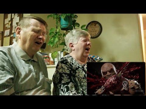Geek Tank Radio: A KISS Original - Old People Reacting To MK 11 Fatalities