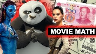 Box Office for Kung Fu Panda 3, Avatar vs Star Wars The Force Awakens, China