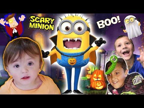 Caterpillar Crawl & BOOING People FUNnel V Halloween Activities