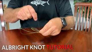 How To Tie ALBRIGHT KNOT | Tutorial