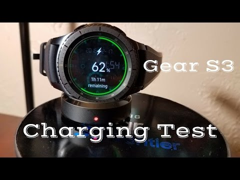 Samsung galaxy gear s3 wireless charging