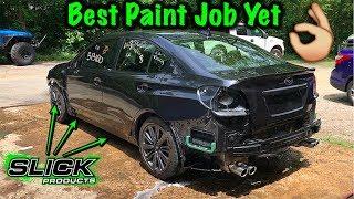 2017 Subaru WRX Finally Painted!