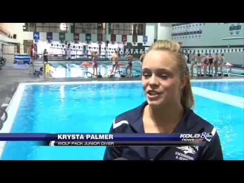 Nevada's Diving Prodigy: Palmer an Unlikely Success Story