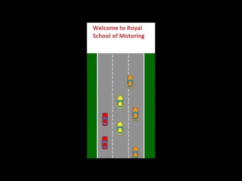Stopping distance - Driving Lessons in South London - 020 8692 3131