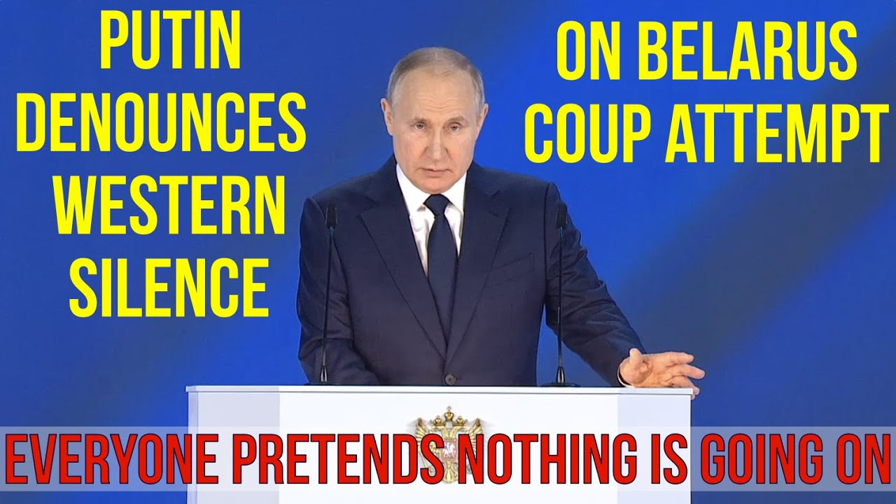 BREAKING Putin: You Can Like or Dislike Lukashenko & Maduro But Staging Coup d'État Is Unacceptable!