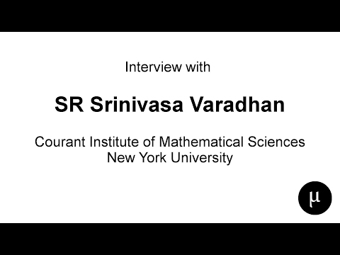 Interview with Prof SRS Varadhan