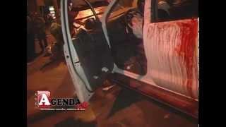 Tres heridos en aparatoso accidente en SFM