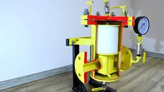 Обзор и принцип работы фильтра ФСГ тип L для газовых сред