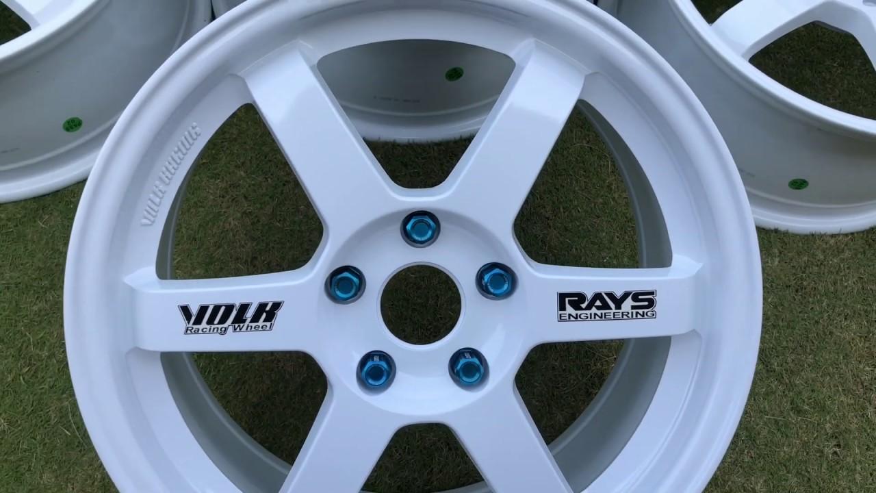 Velg Volk Rays Te37 Ring 17 Baru Odyssey Hrv Brv Civic Fd
