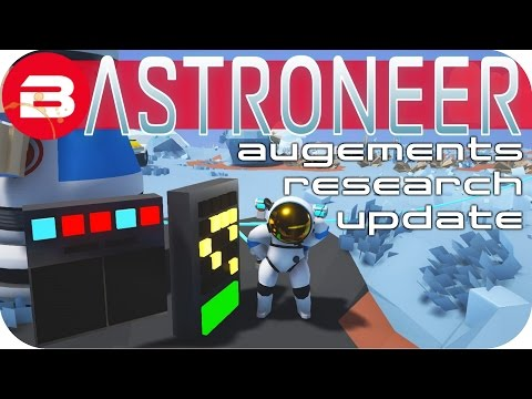 Make Astroneer Gameplay - SATELLITE PUZZLE ▶AUGMENT & RESEARCH CURVE UPDATE◀ Lets Play Astroneer #3 Snapshots