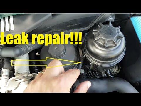 Bmw E39 Power Steering Fluid Leak Repair M54 Engine