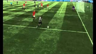 FIFA 11 - FA Cup Final (NUFCvMUFC) Nolan Goal