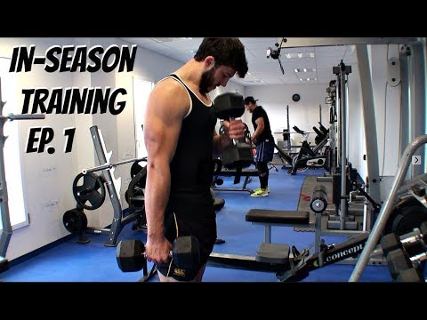In-season Rugby Training Episode 1