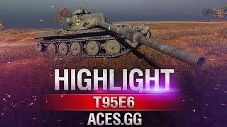 Редкий, но меткий! Т95Е6 в World of Tanks!