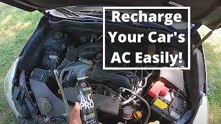 How to Recharge a Car's Air Conditioner in Under 4 Minutes, AC Pro