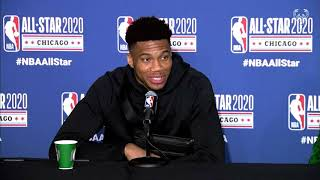 """I Loved The New All-Star Format."" Giannis Antetokounmpo All-Star Game Press Conference 