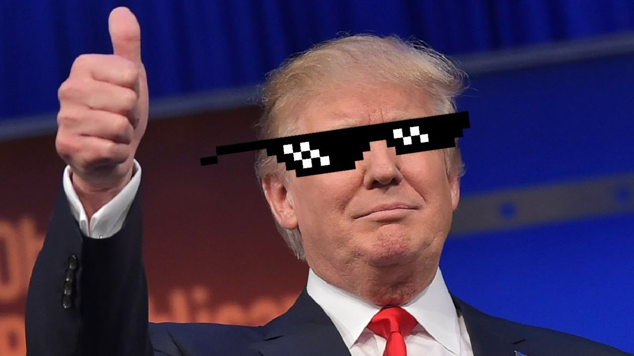 Image result for trump deal with it